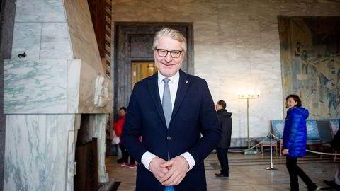 Tidligere Oslo-ordfører Fabian Stang (H) blir statssekretær i Innvandrings- og integreringsdepartementet.  Foto: Mikaela Berg