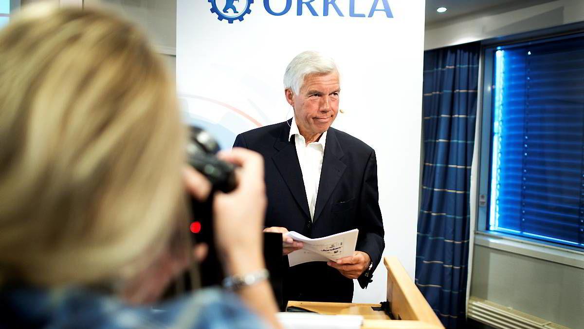 Åge Korsvold ble konstituert som Orkla-sjef i slutten av april, etter at Bjørn M. Wiggen forlot stillingen etter bare 19 måneder i jobben.