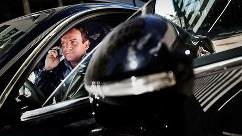 Dag Høili har investert store summer i The Moon. Her er han i sin Bentley Continental GT tilbake i 2013.