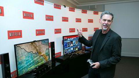 Reed Hastings er toppsjef i Netflix.
