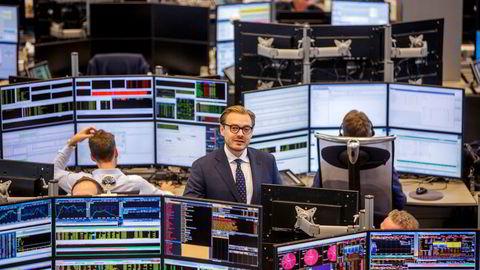 – Vi ser definitivt en stor konkurranse blant meglerhusene, sier aksjesjef Alexander Opstad i DNB Markets, som kan glede seg over å være kundenes favorittmeglerhus for fjerde året på rad.