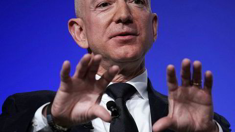 Amazon-sjef Jeff Bezos grunnla Amazon som 30-åring i 1994.