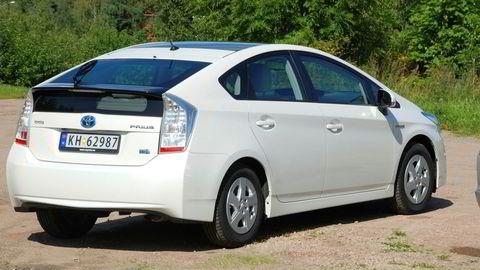 Toyota tilbakekaller biler i hele verden. I Norge gjelder det blant annet 183 av modellen Prius. Foto: Embret Sæter