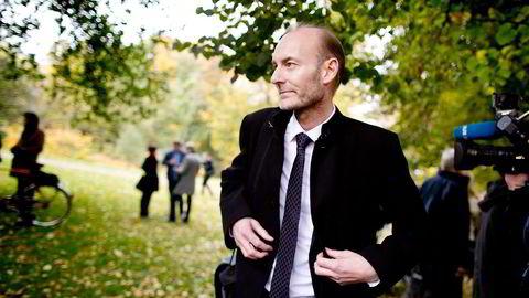Knut Olav Åmås er direktør i Stiftelsen Fritt Ord, som står klar til å selge seg helt ut av Amedia. Nå skal han lede regjeringens mediemangfoldsutvalg. Foto: Ida von Hanno Bast