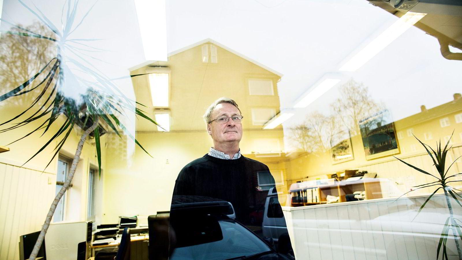 LETTET. Rune Mannsåker er glad han ble frikjent for erstatningsansvar etter at huskjøper fant fukt i en kjeller fire år etter at han laget boligsalgsrapporten.