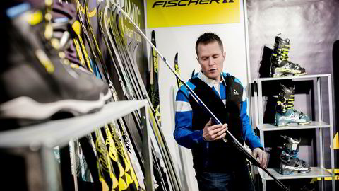 – Skisalget er ekstremt bra i år, sa Finor-selger Ole Henrik Robarth fra Fischers stand på Norspomessen i 2018. Det bekreftes nå av de ferske regnskapstallene fra fjoråret.