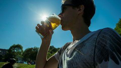Mange studenter drikker for mye.