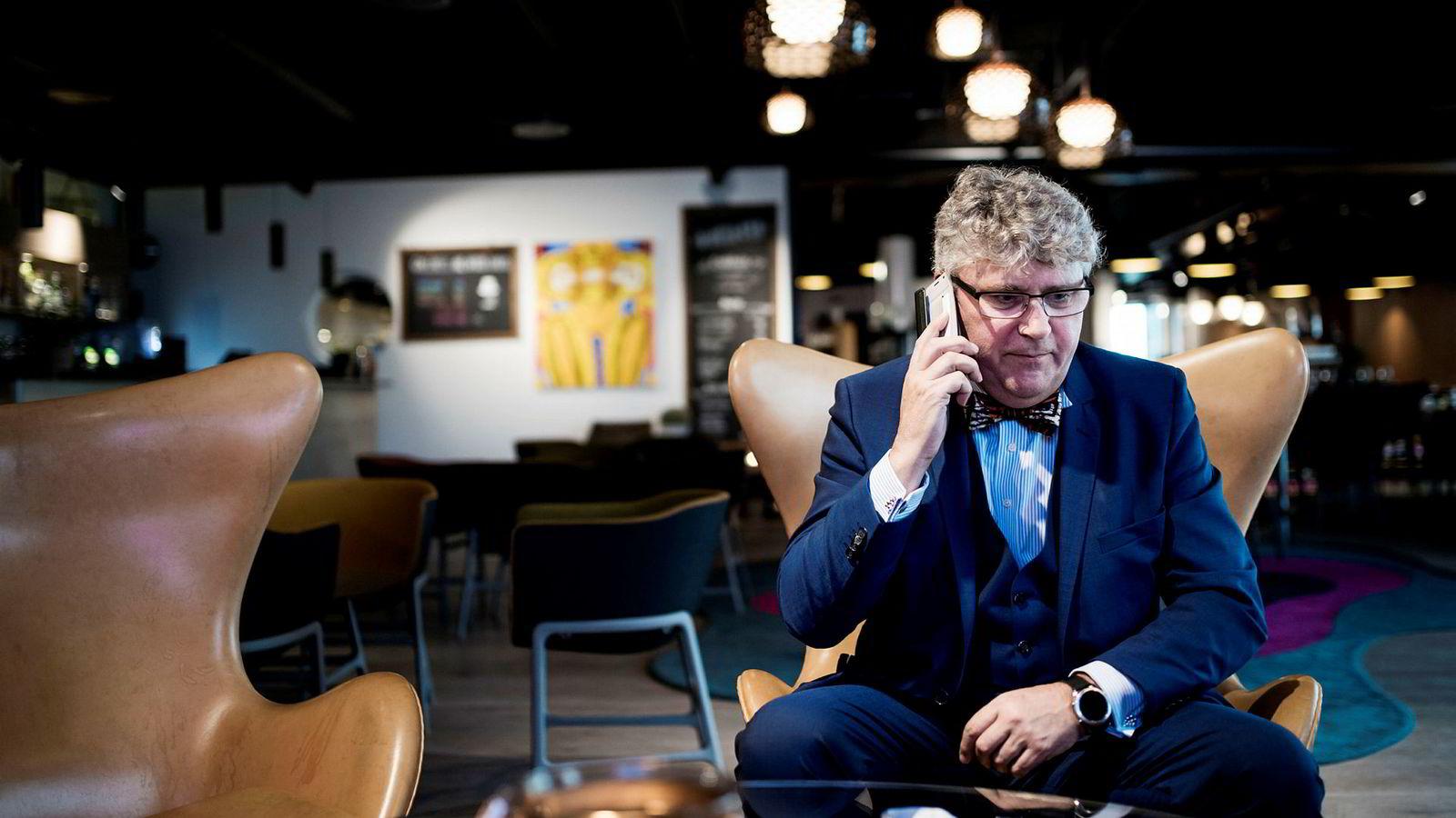 Administrerende direktør i oljeselskapet Okea Erik Haugane styrer mot børs.