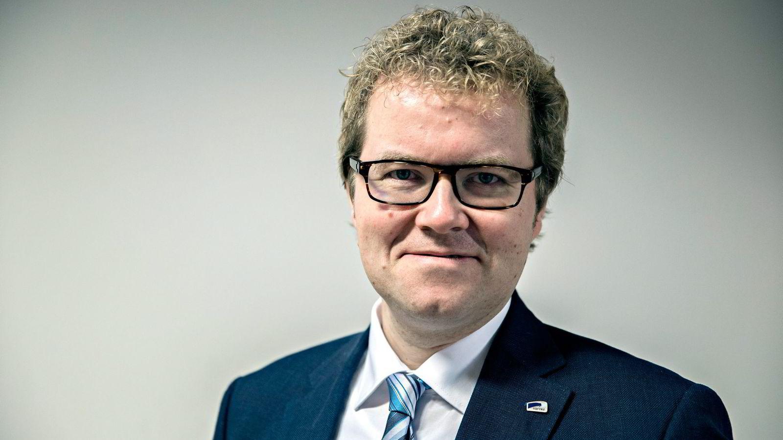 Statssekretær i Kulturdepartementet Bjørgulv Vinje Borgundvaag Foto: Aleksander Nordahl