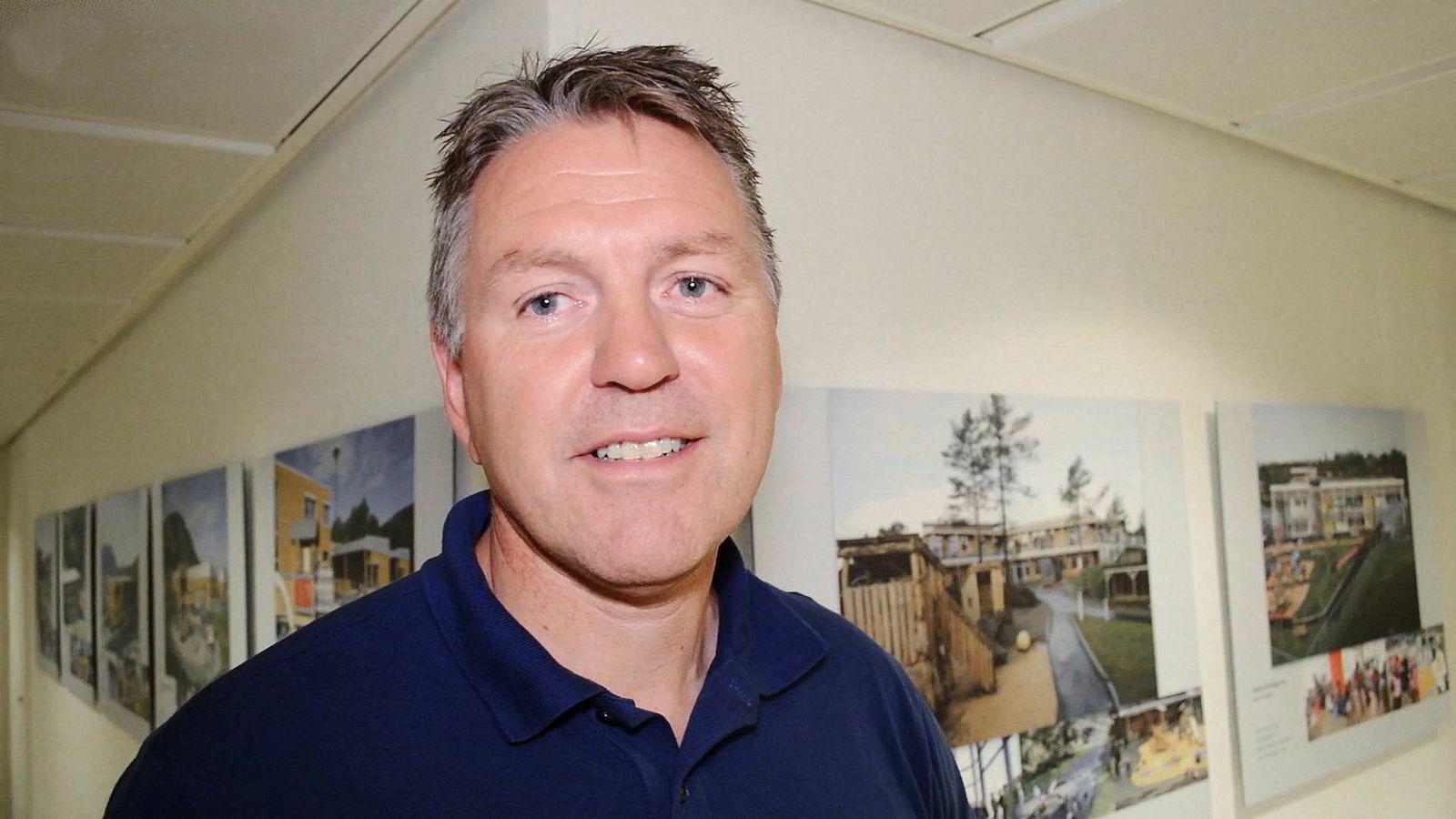 Bjørn (bildet) og Kjersti Grønmyr er gründerne bak Gnist barnehager som nå er solgt til oppkjøpsfondet Altor.