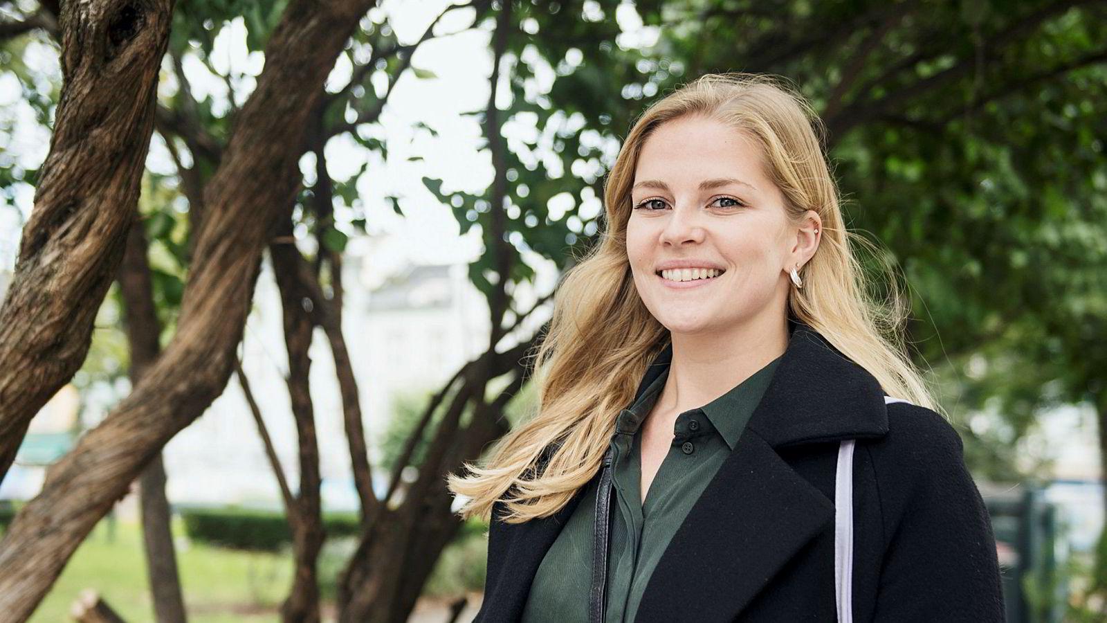 Vilde Løvaas Jensen (26) er én av MDG-velgerne som eier egen bolig.