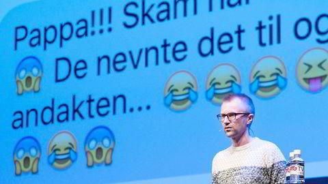 – Vi hadde en veldig spesifikk promostrategi, sa NRK P3s redaksjonssjef for tv, Håkon Moslet, om «Skam» under Mediekonferansen 2016 i Tønsberg fredag.
