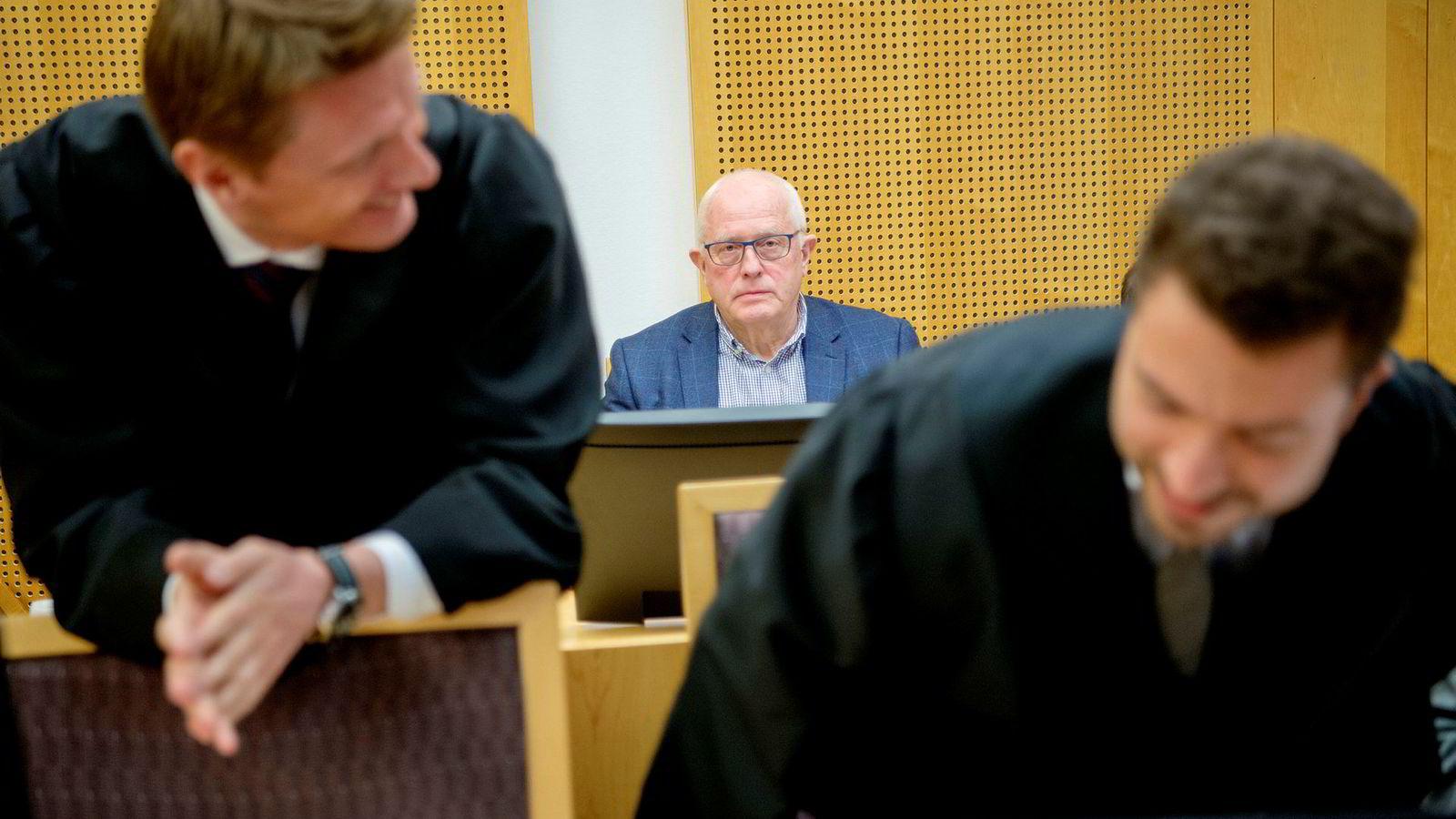 Fra bakerste benk fulgte gründer i Neodrill, Harald Strand, rettssaken i Oslo tingrett i mars. Nå er har dommen kommet.