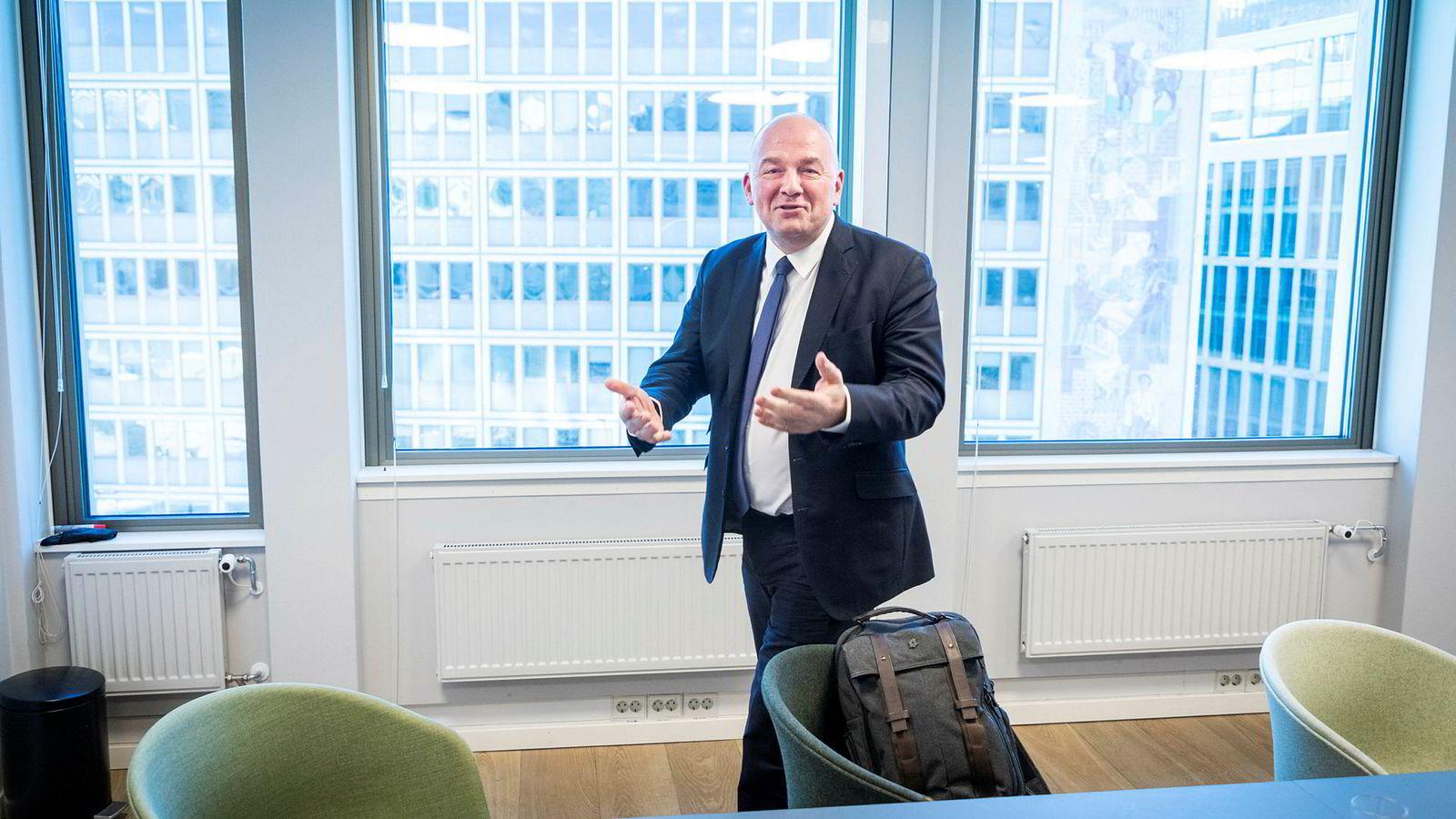 Euronext-sjef Stéphane Boujnah legger ytterligere 600 millioner kroner på bordet for å sikre seg Oslo Børs VPS.