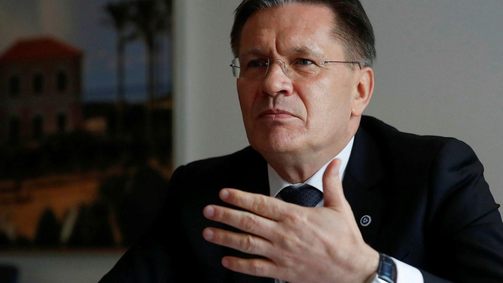 Alexey Likhachyov, administrerende direktør for det statlige selskapet Rosatom, sier de skal fortsette utviklingen av våpenet.