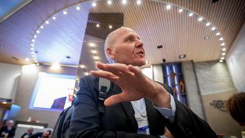 Telenor sliter med å oppnå vekst i enkelte land, deriblant Thailand hvor konsernsjef Sigve Brekke ledet selskapets virksomhet Dtac for en del år siden. Her er han avbildet i Davos i forrige uke.