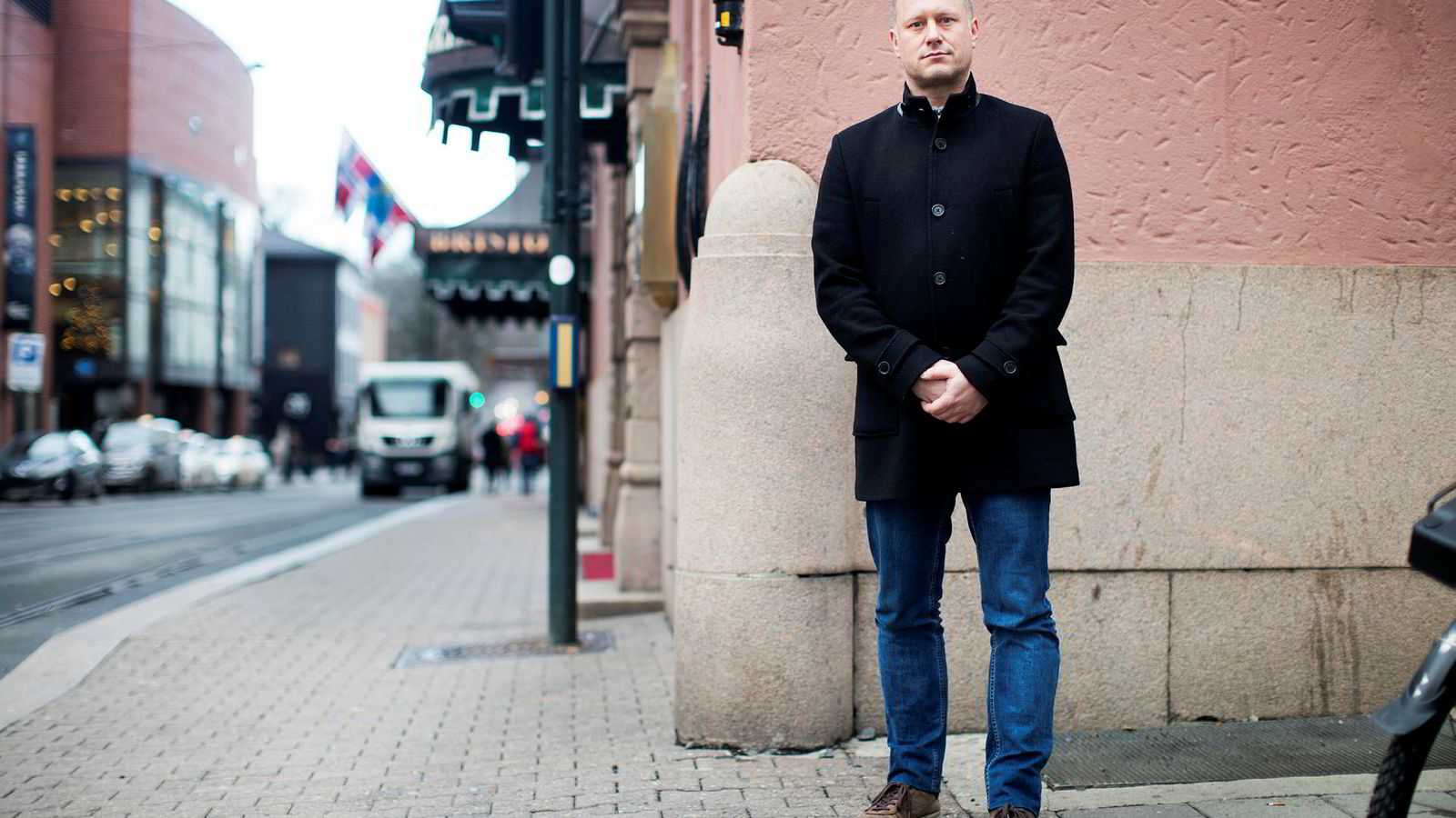 Administrerende direktør Alf Martin Johansen i Induct.