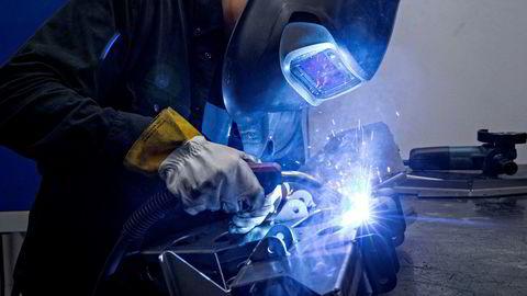 Aktiviteten i norsk industri har ikke vært høyere på fem år, viser PMI-indeksen.
