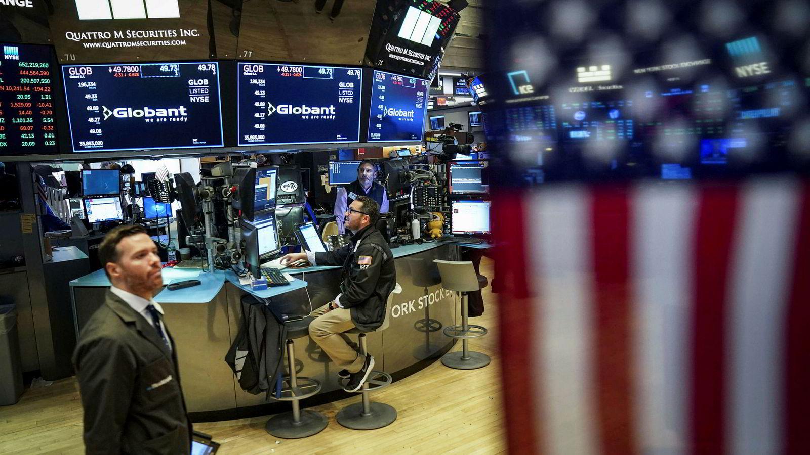 USA-børsene faller onsdag.
