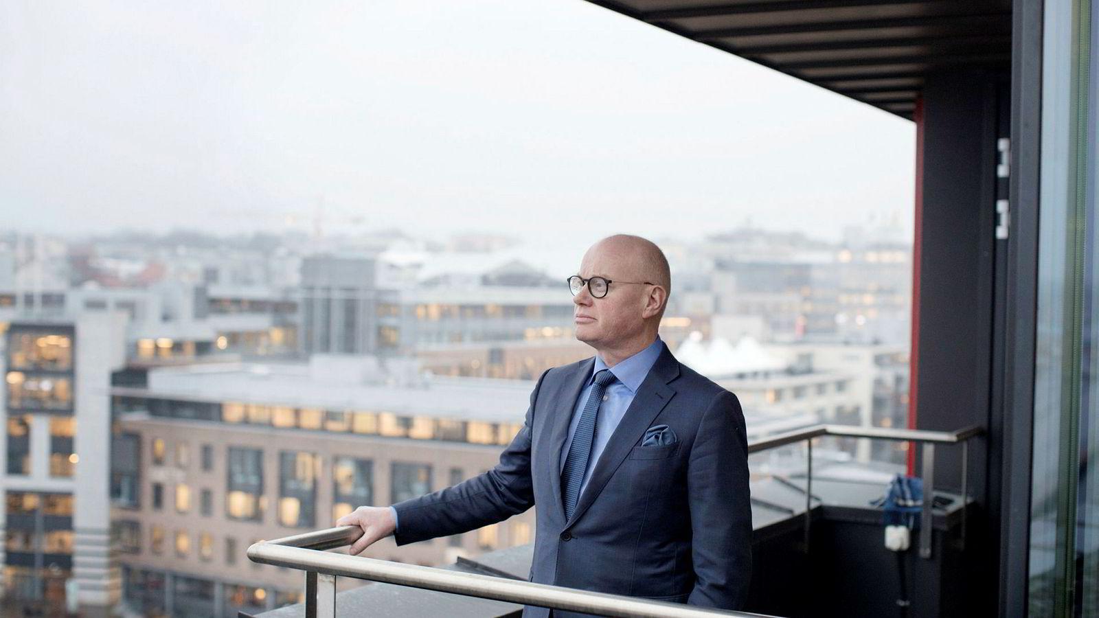 Bård Bjølgerud, administrerende direktør og partner i Pangea Property Partners.