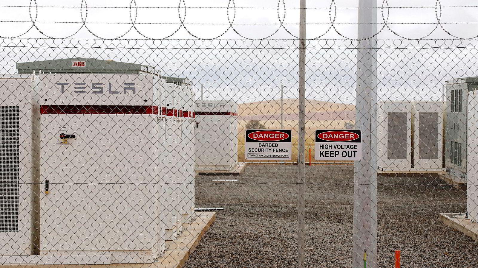 Et av verdens største litium ion-batterier laget av Tesla finner man i Australia. I forrige uke lanserte selskapet offisielt sitt megapack-batteri, med strømlagring for kraftbransjen.