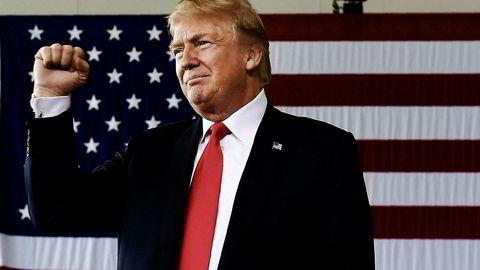 USAs president Donald Trump har hektiske dager i vente.