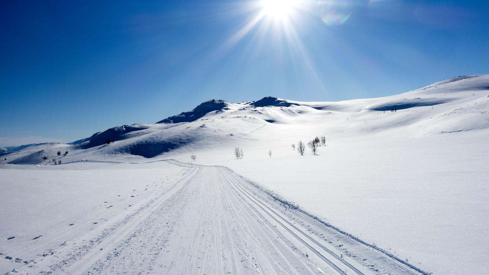 Nordmenn foretrekker fritid foran høyere lønn, viser nok en undersøkelse. Her fra Skarvatnet i Oppdal. Foto: Gorm Kallestad/