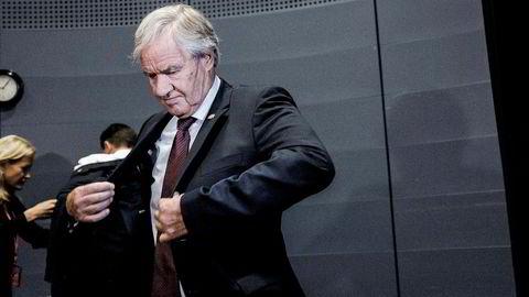 Konsernsjef i Norwegian, Bjørn Kjos. Foto: Adrian Nielsen