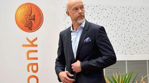 Anders Karlsson er fungerende konsernsjef i Swedbank etter at Birgitte Bonnesen fikk sparken i vår.