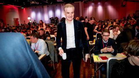Ap-leder Jonas Gahr Støre har forsvart kompromisset til siste slutt.