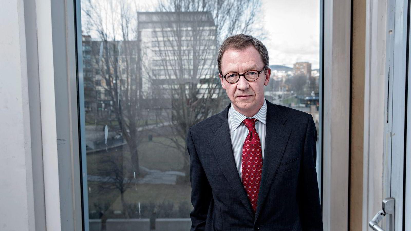 Administrerende direktør Idar Kreutzer i Finans Norge. Foto: Aleksander Nordahl