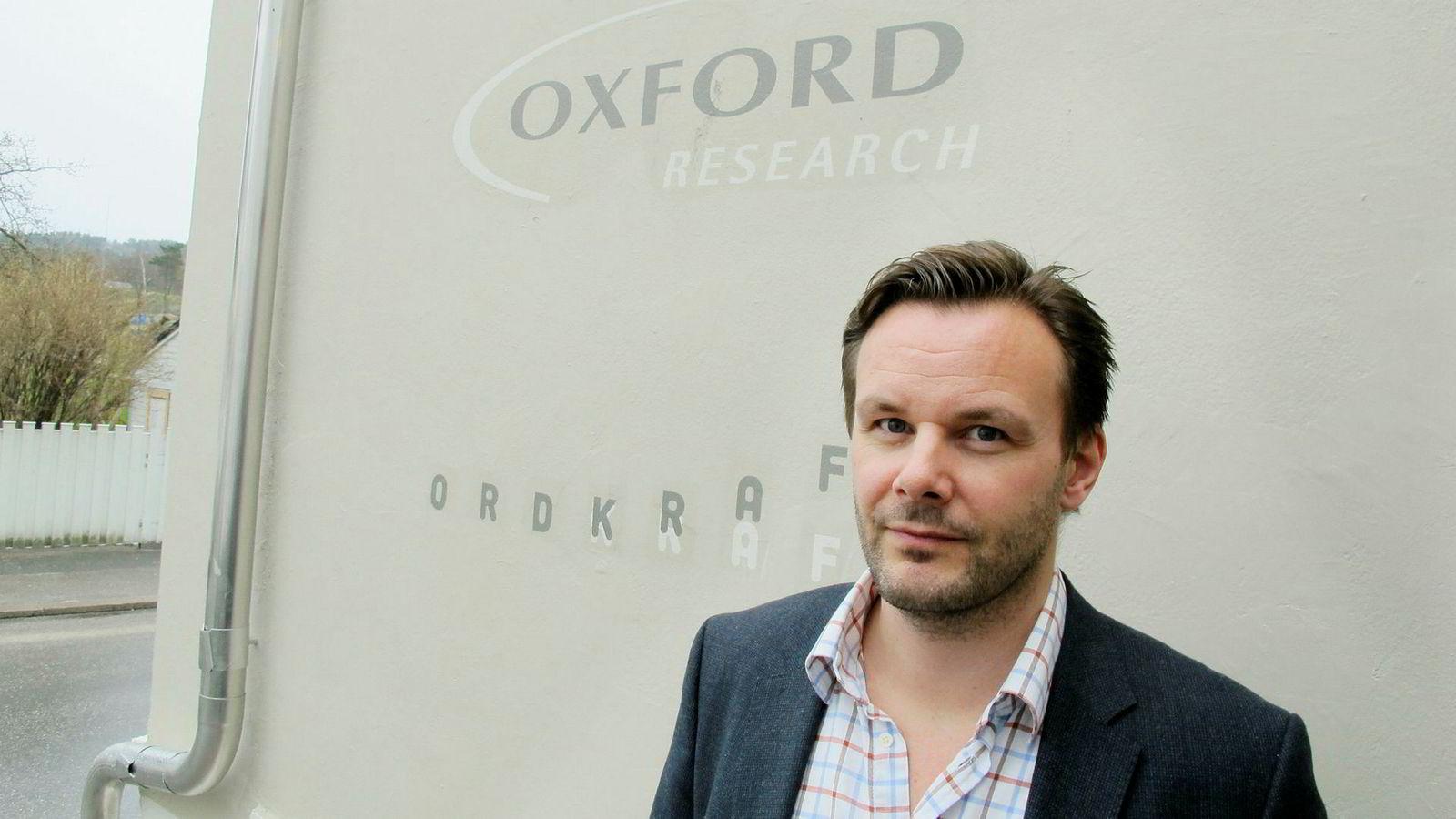 Rune Stiberg-Jamt, administrerende direktør i Oxford Research AS