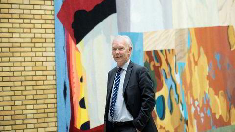 Per Olaf Lundteigen fra Senterpartiet var nær alene om å snakke om EUs utvikling da Stortinget diskuterte Europa på torsdag.