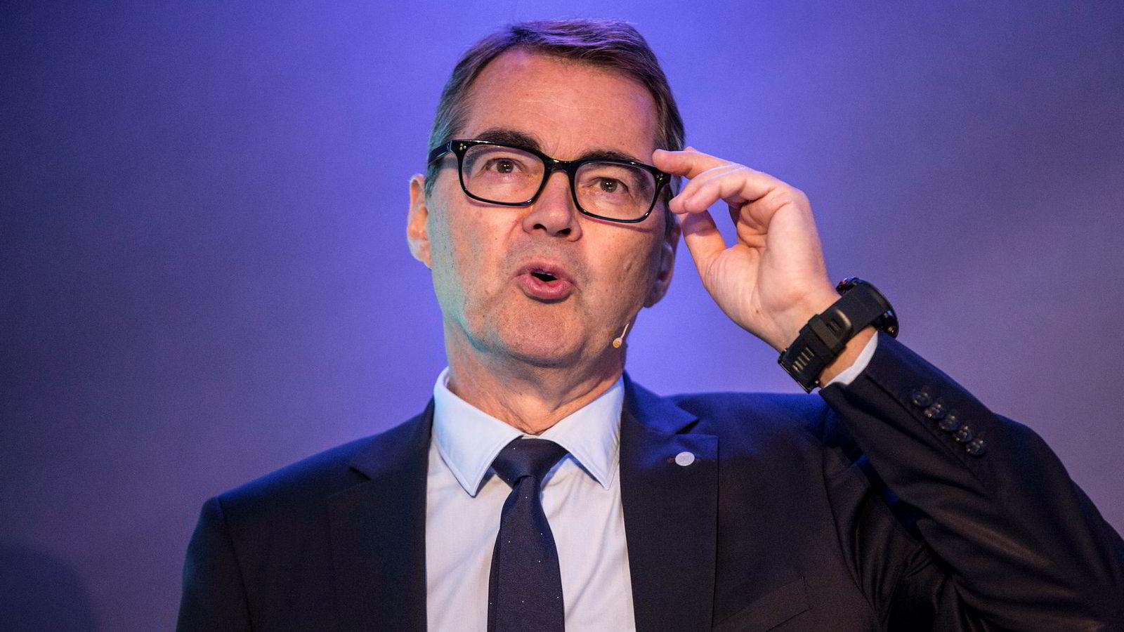 Norsk Hydro-sjef Svein Richard Brandtzæg