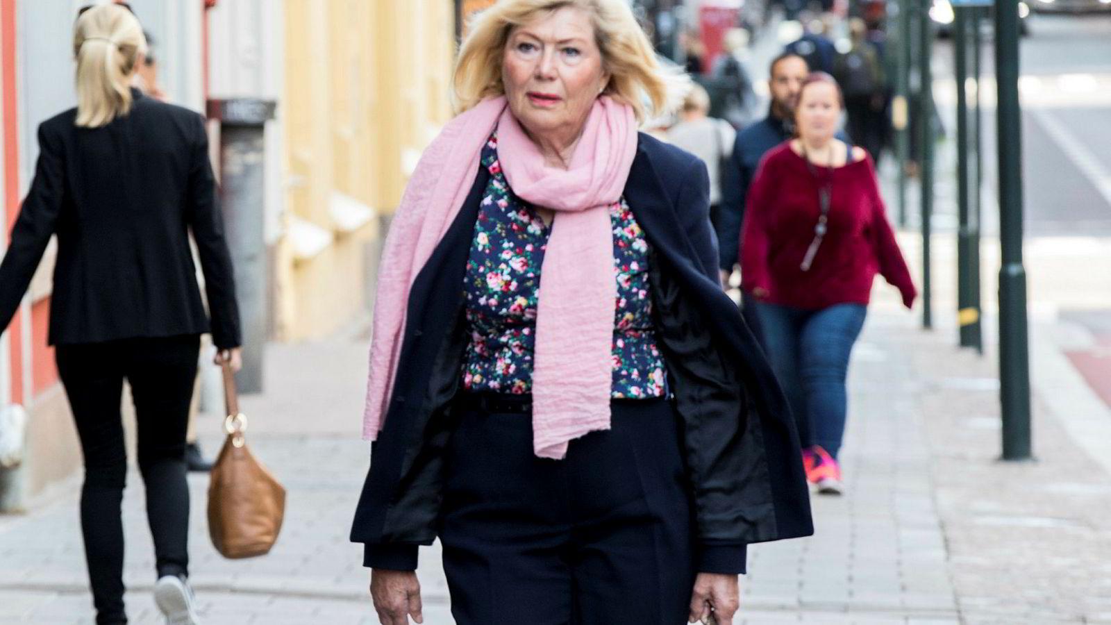 Ann Kathrine Skjørshammer er leder av KrF Kvinner, som er en egen delegasjon på landsmøtet. Hun er kritisk til Hareides frieri til Arbeiderpartiet og Senterpartiet.