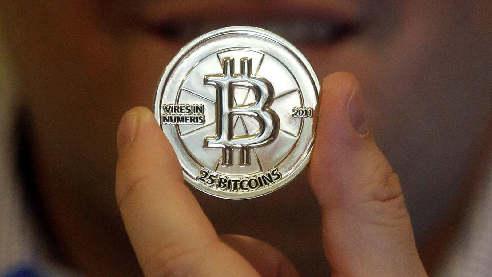 Bitcoin har steget med over 1500 prosent så langt i år.