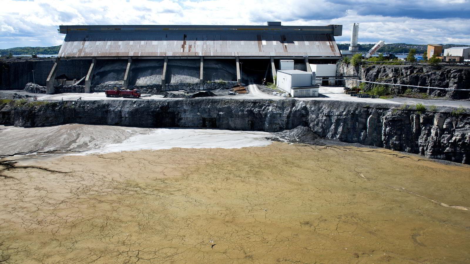 Dagens deponi for farlig avfall på Langøya er snart fylt opp, skriver artikkelforfatteren.