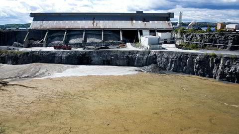 Dagens deponi for farlig avfall på Langøya er snart fylt opp, skriver artikkelforfatteren. Foto: Per Ståle Bugjerde
