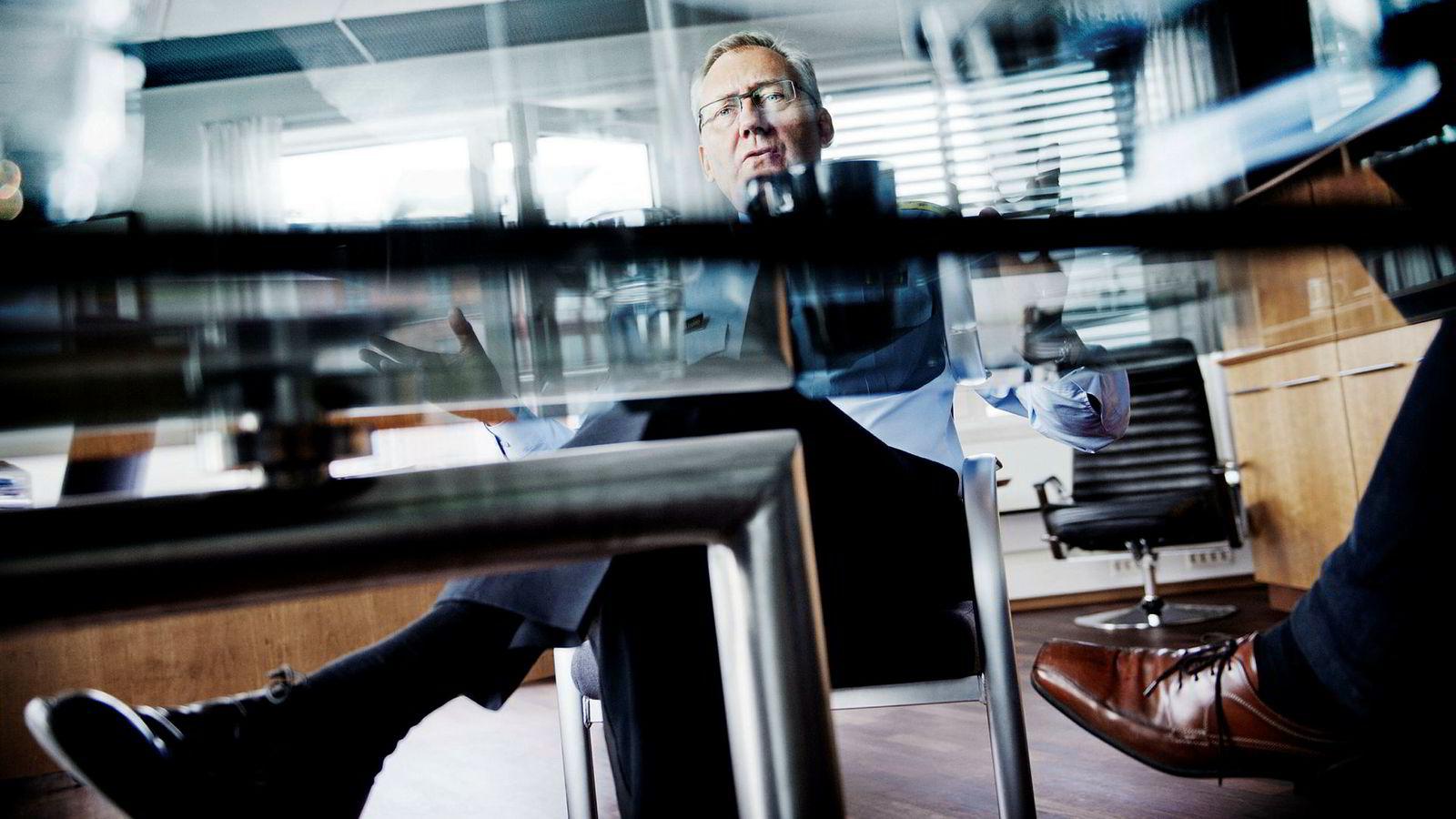 Politidirektør Odd Reidar Humlegård henvendte seg i mars til regjeringen angående stillingen til politimestere.