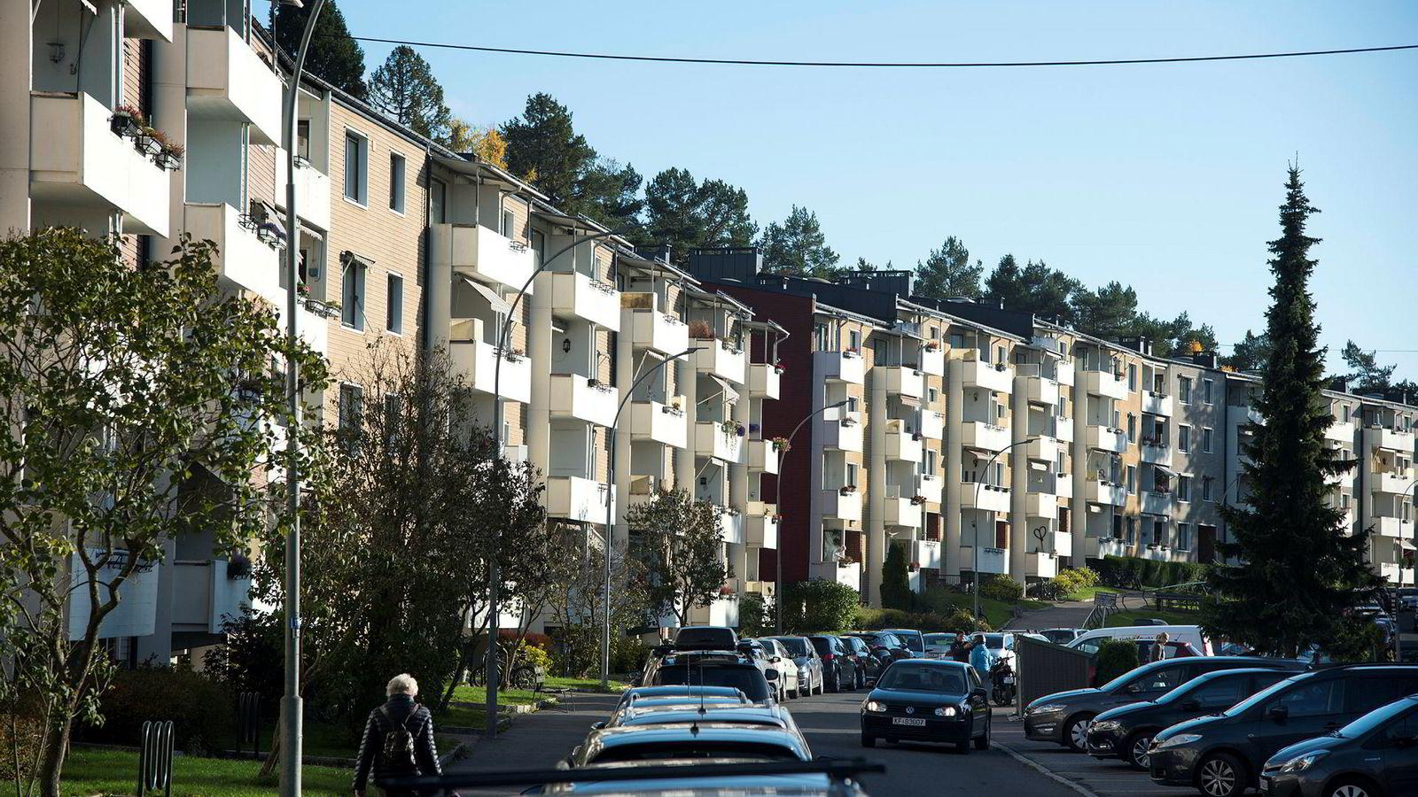 Leiligheter på Lambertseter i Oslo.