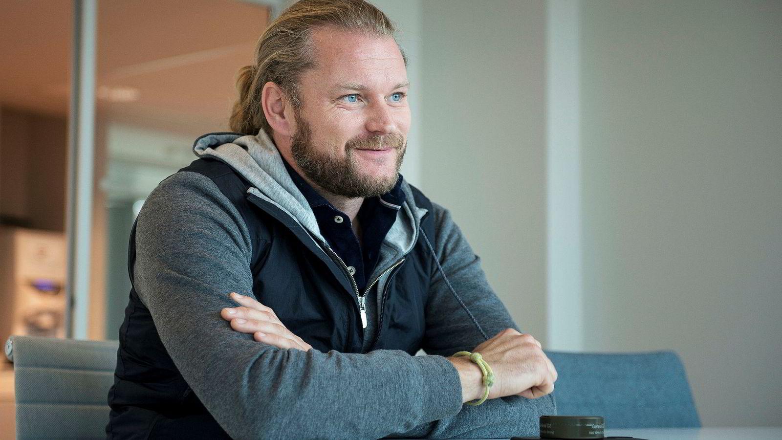Petter Smedvig Hagland fikk endelig et plussresultat etter flere tunge år.