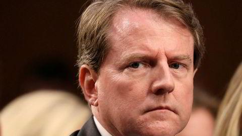 Demokratene Kongressen gjør alt de kan for å få advokat Don McGahn til å vitne.