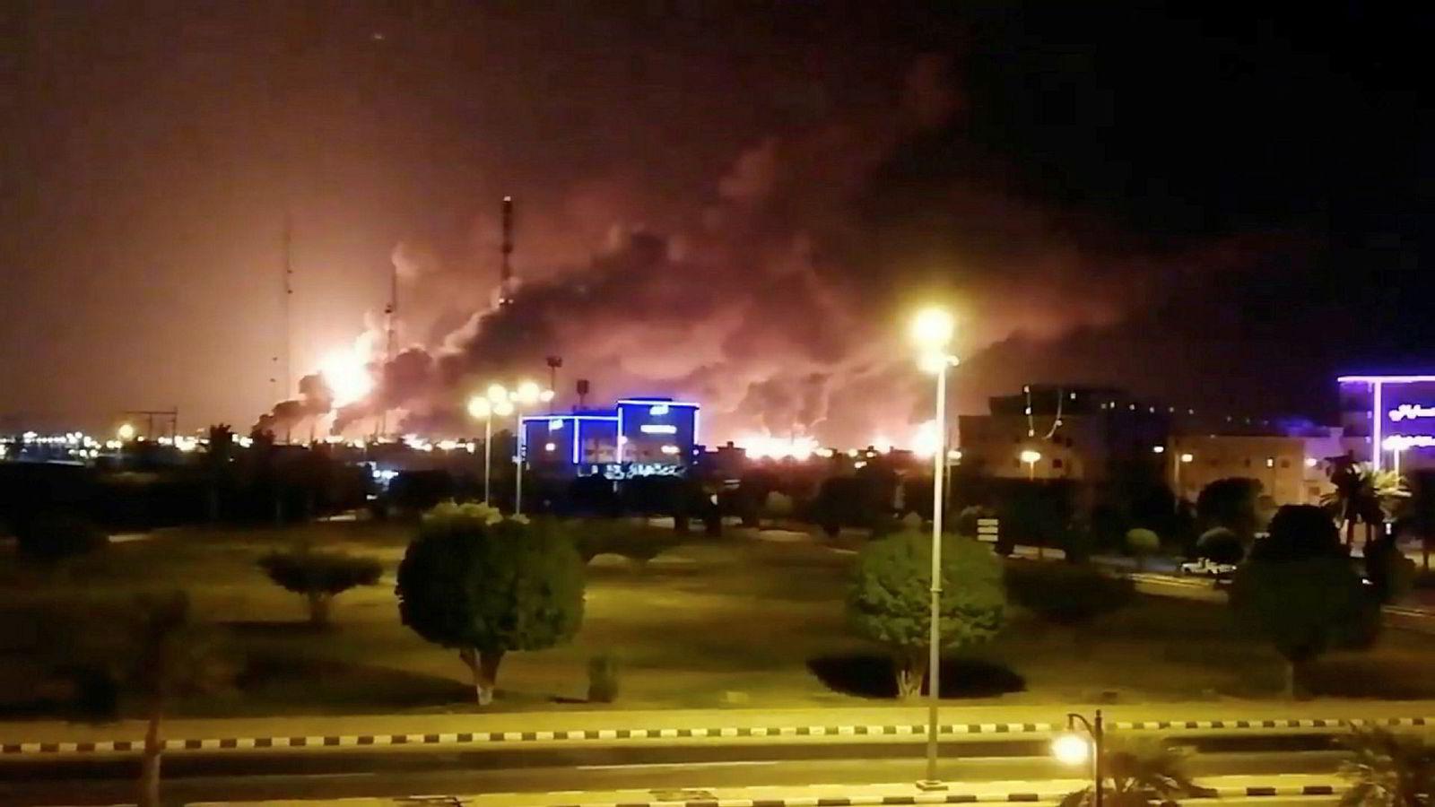 Saudi-Arabia vil legge frem beviser for at Iran var involvert i droneangrepene mot deres oljeinstallasjoner forrige uke.