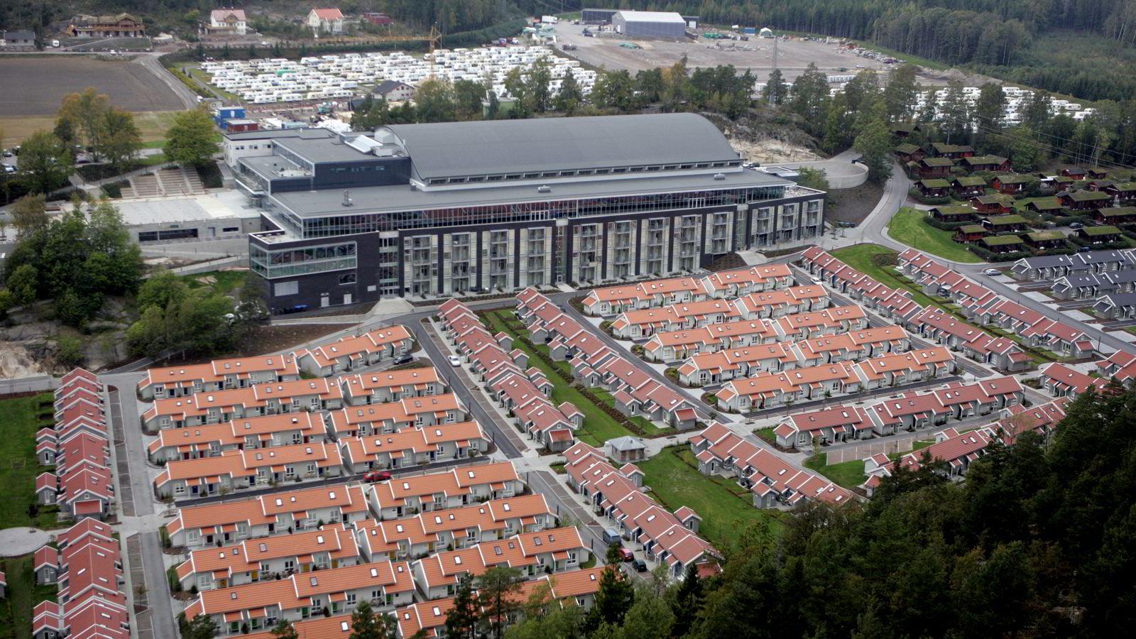 Smiths venners konferansesenter i Melsomvik på Brunstad får nesten en halv million kroner i døgnet fra UDI – uten en eneste asylsøker. Foto: Cornelius Poppe /