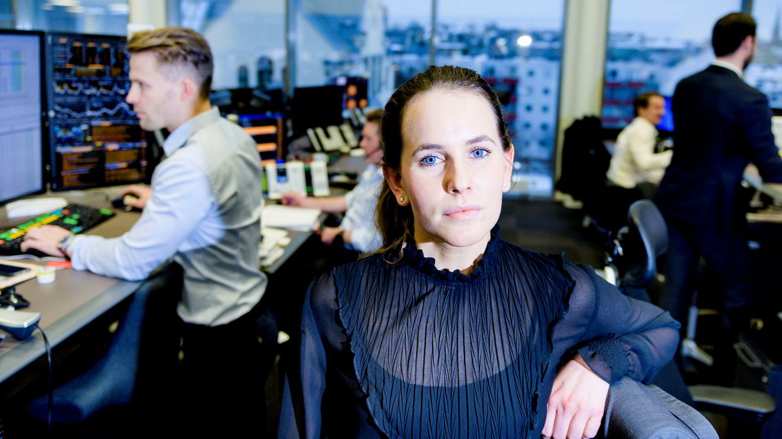 Valutaanalytiker Ingvild Borgen Gjerde i DNB Markets mener videre oppgang i aksjemarkedet er enda mer truet med den eskalerte handelskrigen.