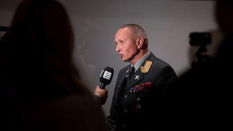 Etterretningssjef Kjell Grandhagen. Foto: Terje Bendiksby /