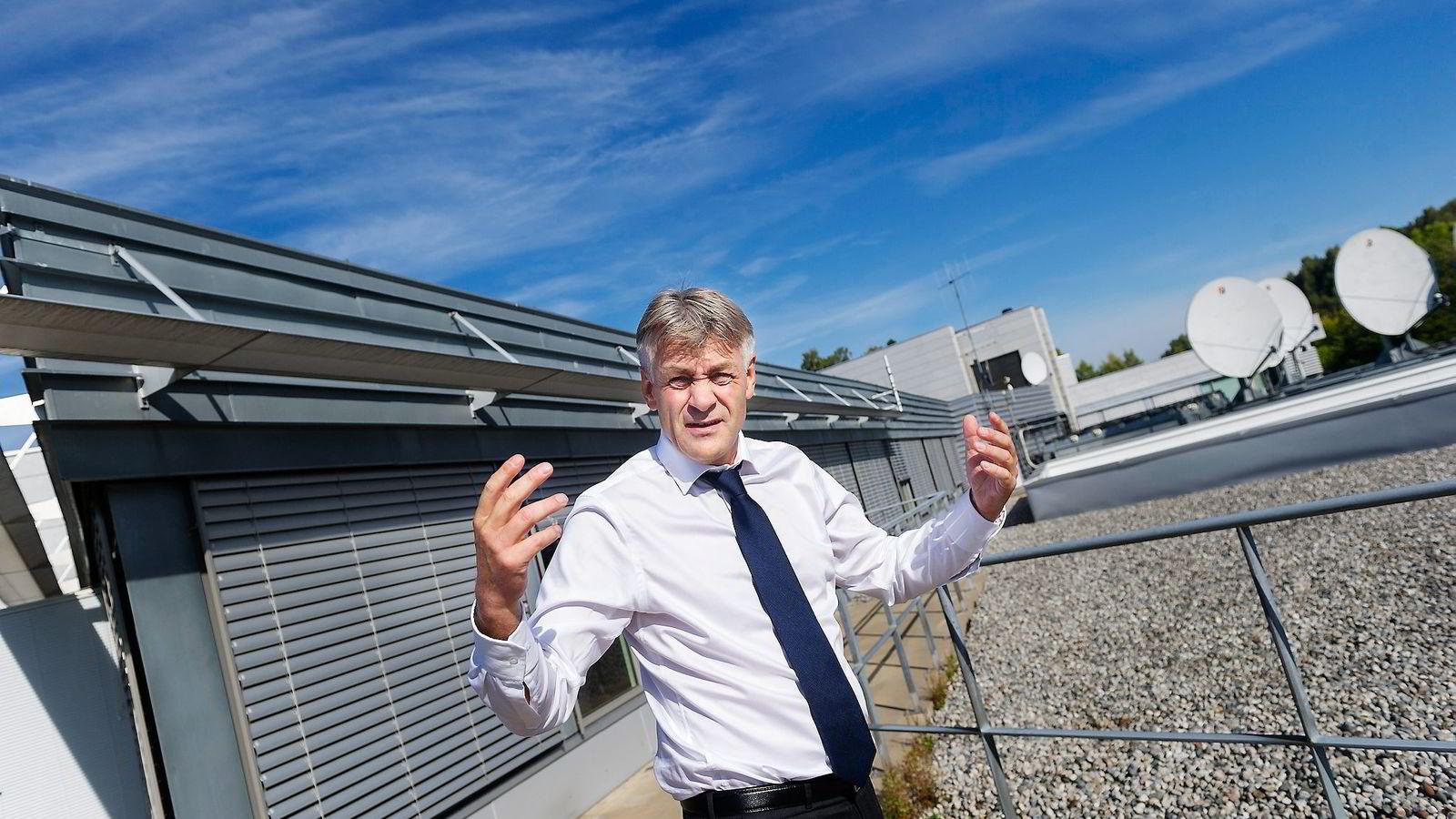 Gunnar Evensen, administrerende direktør i TDC Get, omtaler Telenor som «verdens beste monopolist».