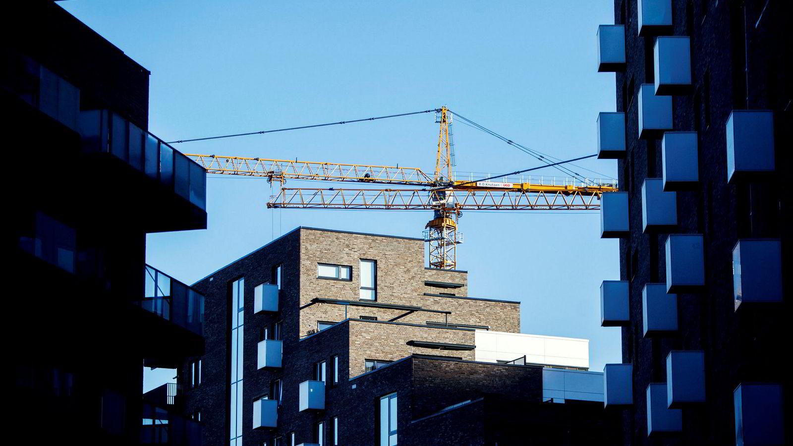 Obos-leiligheter i Kværnerbyen i Oslo.