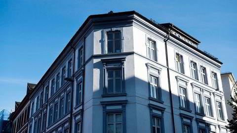 Leiligheter i Gamlebyen, Oslo. Illutrasjonsfoto. Foto: Per Ståle Bugjerde