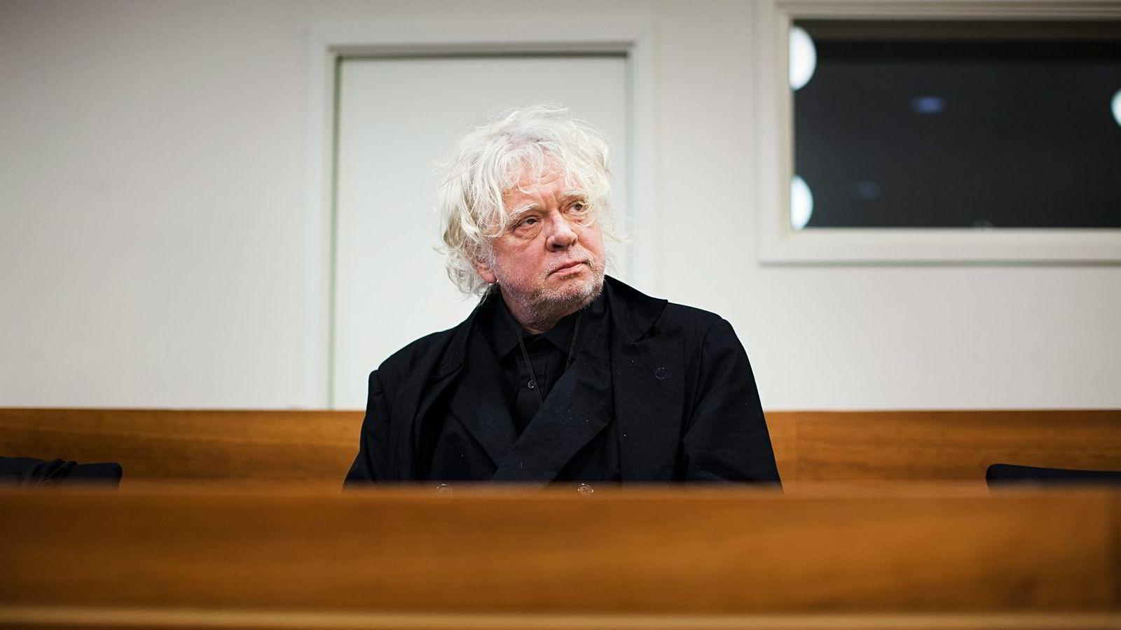 Oslo, Norge, 11.06.2012, Odd Nerdrum anke om skatteundragelser skal opp for lagmannsretten. Foto: Per Thrana
